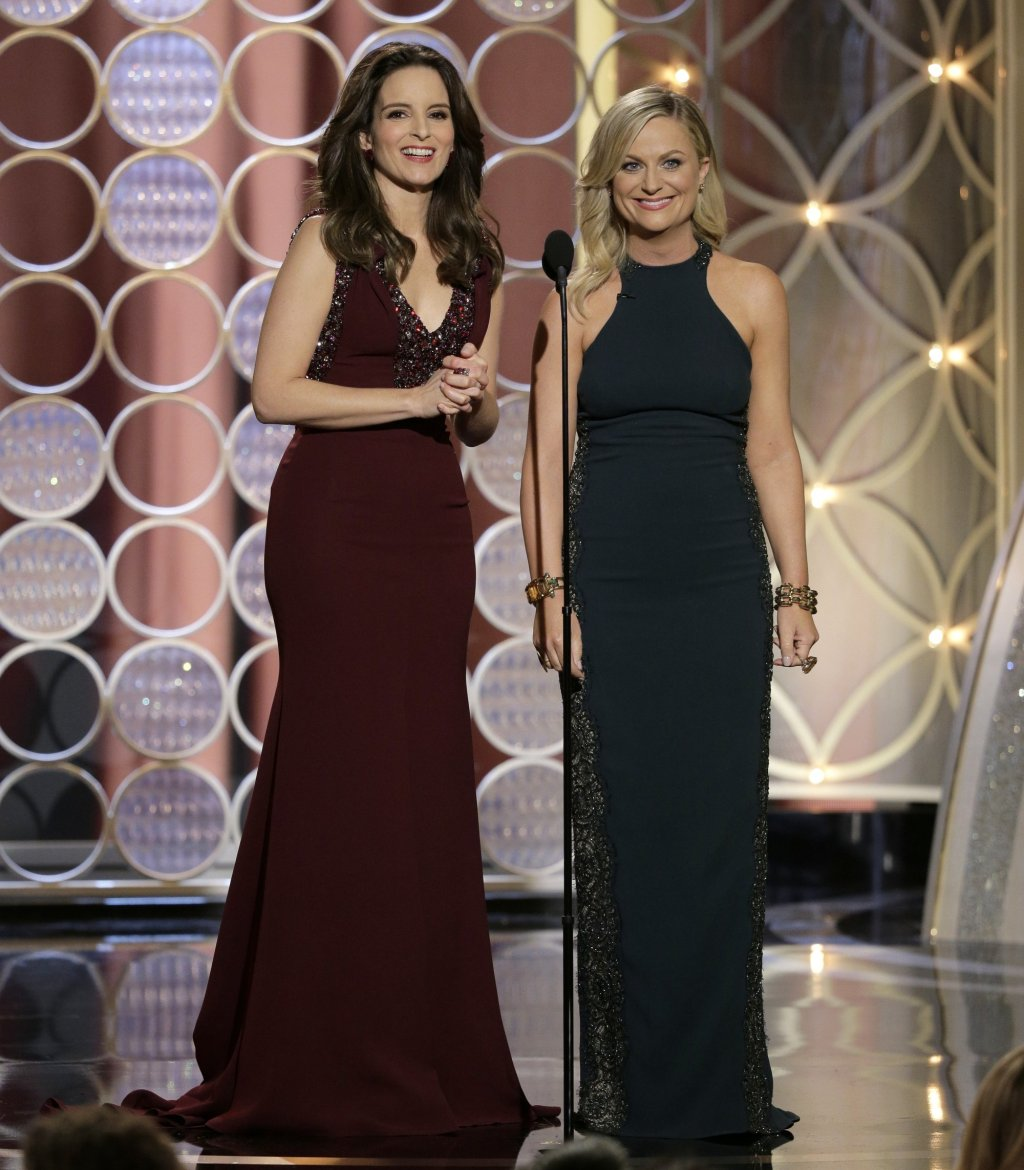 Tina Fey and Amy Poehler Golden Globes
