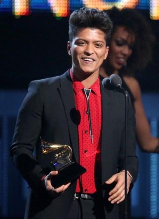 Bruno Mars Grammys
