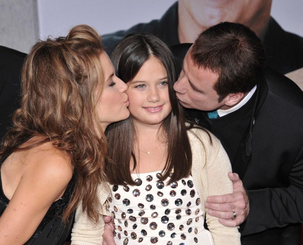 John Travolta and Kelly Preston's daughter, 18, is all grown up | Wonderwall.com