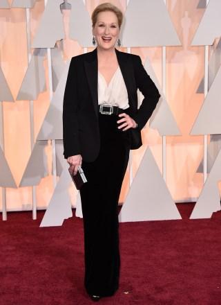 Meryl Streep 2015 Oscars