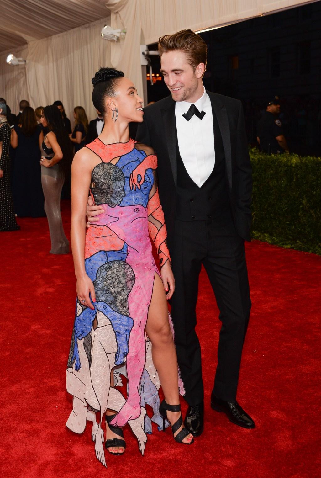 Robert Pattinson and FKA Twigs, MET Gala
