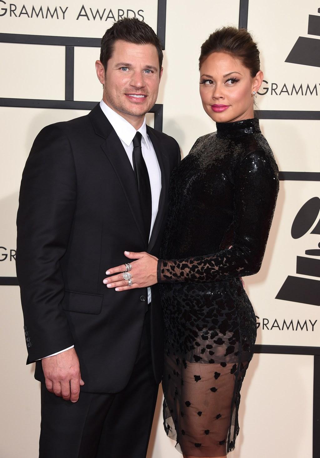 Nick Lachey, Vanessa Lachey, Grammys