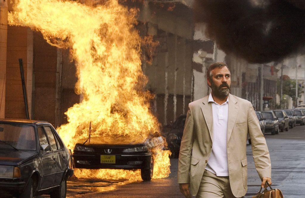 George Clooney films Syriana