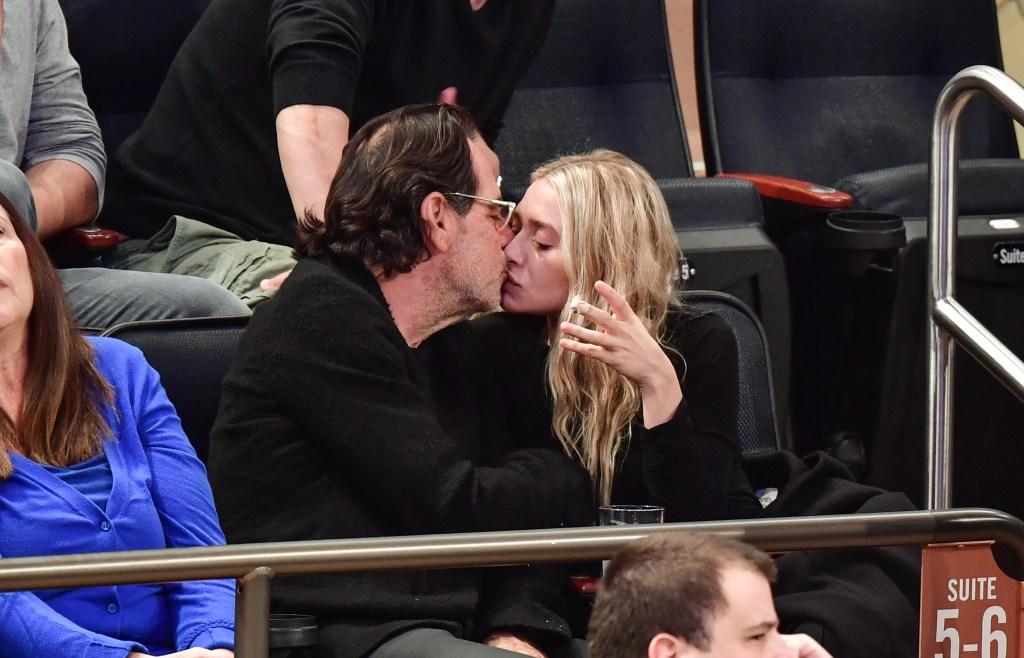 Richard Sachs and Ashley Olsen