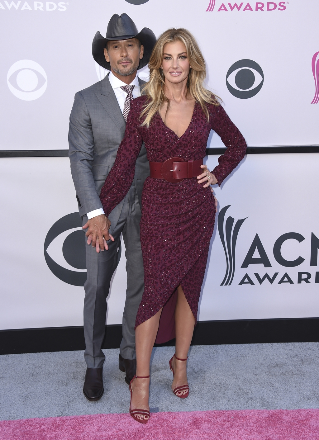 Tim McGraw and Faith Hill 2017 ACM Awards