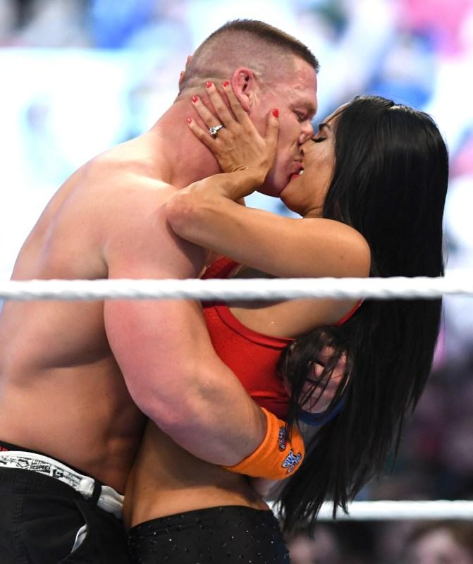 John Cena and Nikki Bella engagement