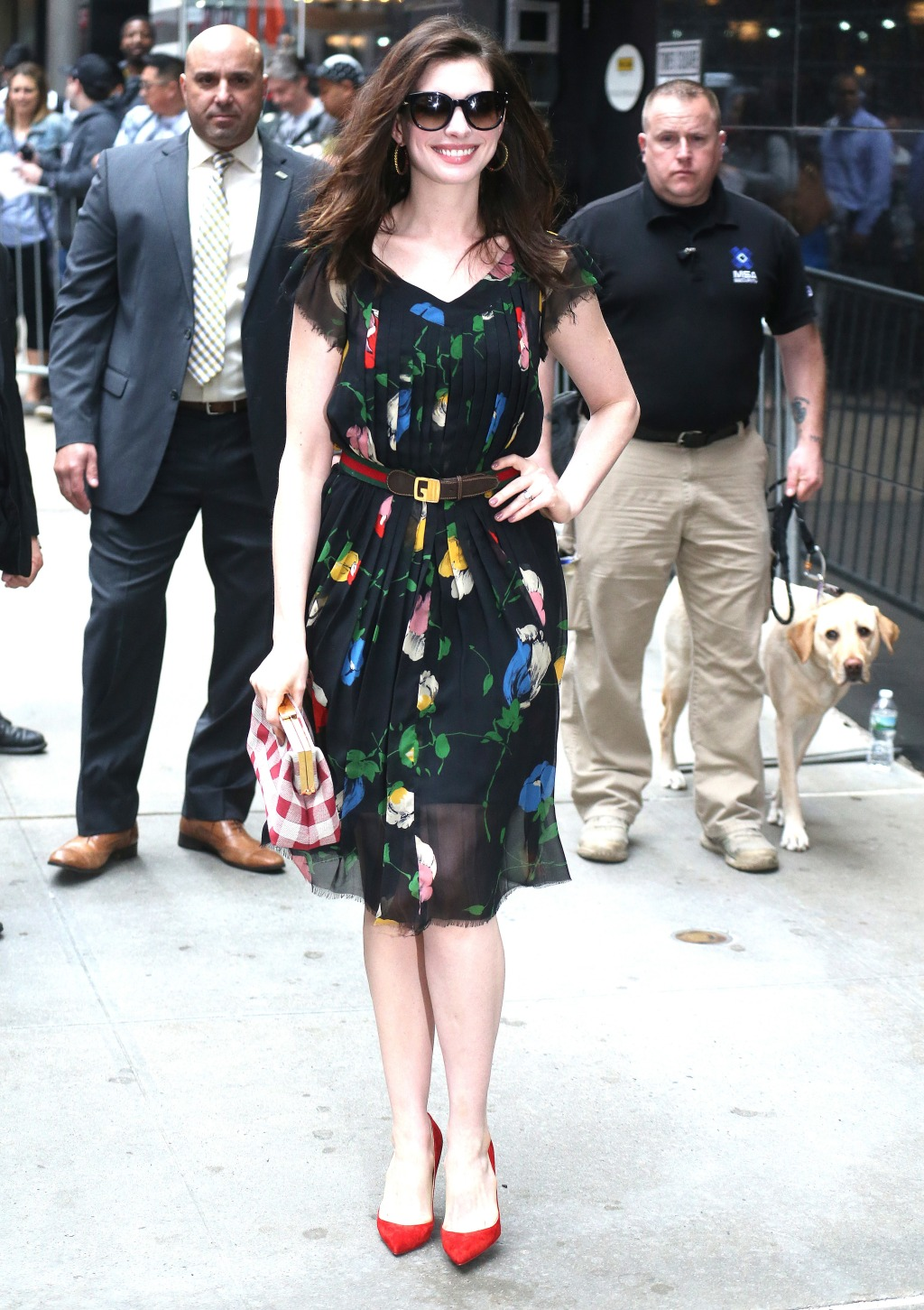 Anne Hathaway at Good Morning America