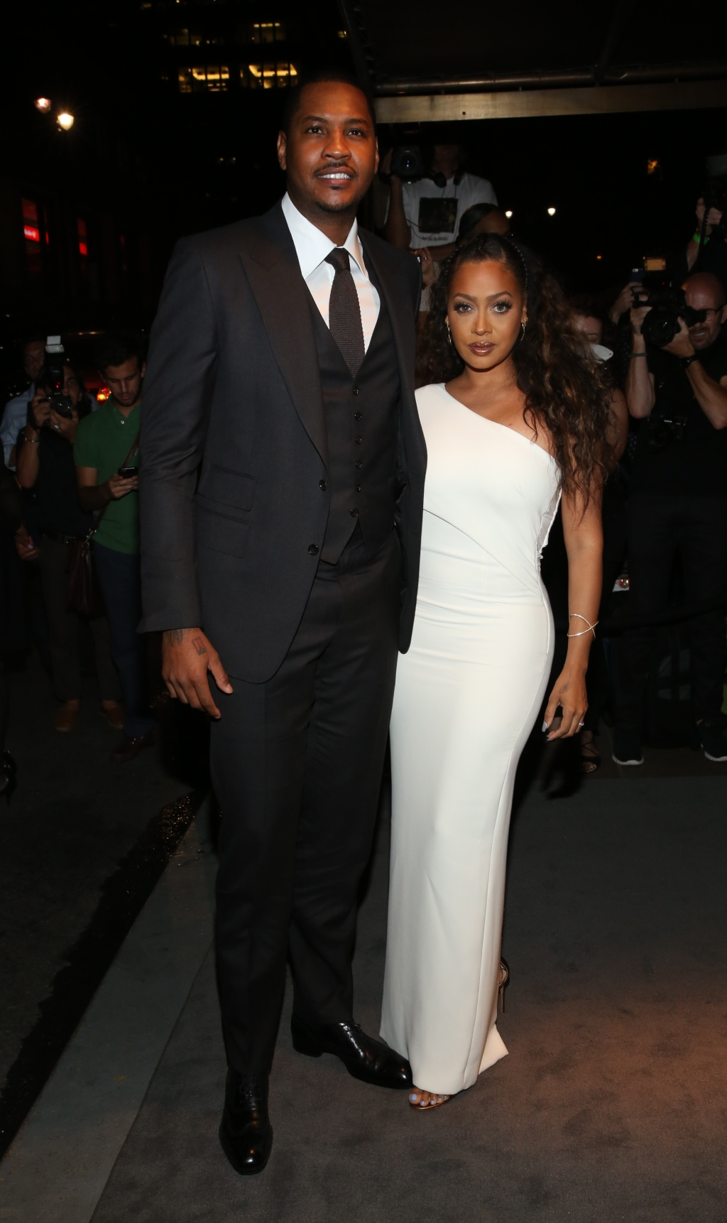 La La Anthony and Carmelo Anthony