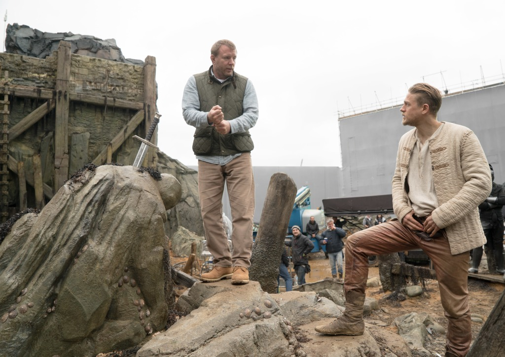 Guy Ritchie, Charlie Hunnam, King Arthur: Legend of the Sword