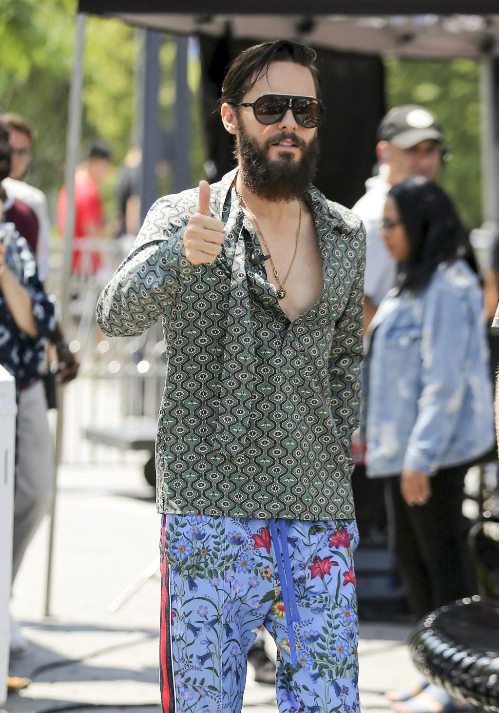 Jared Leto style