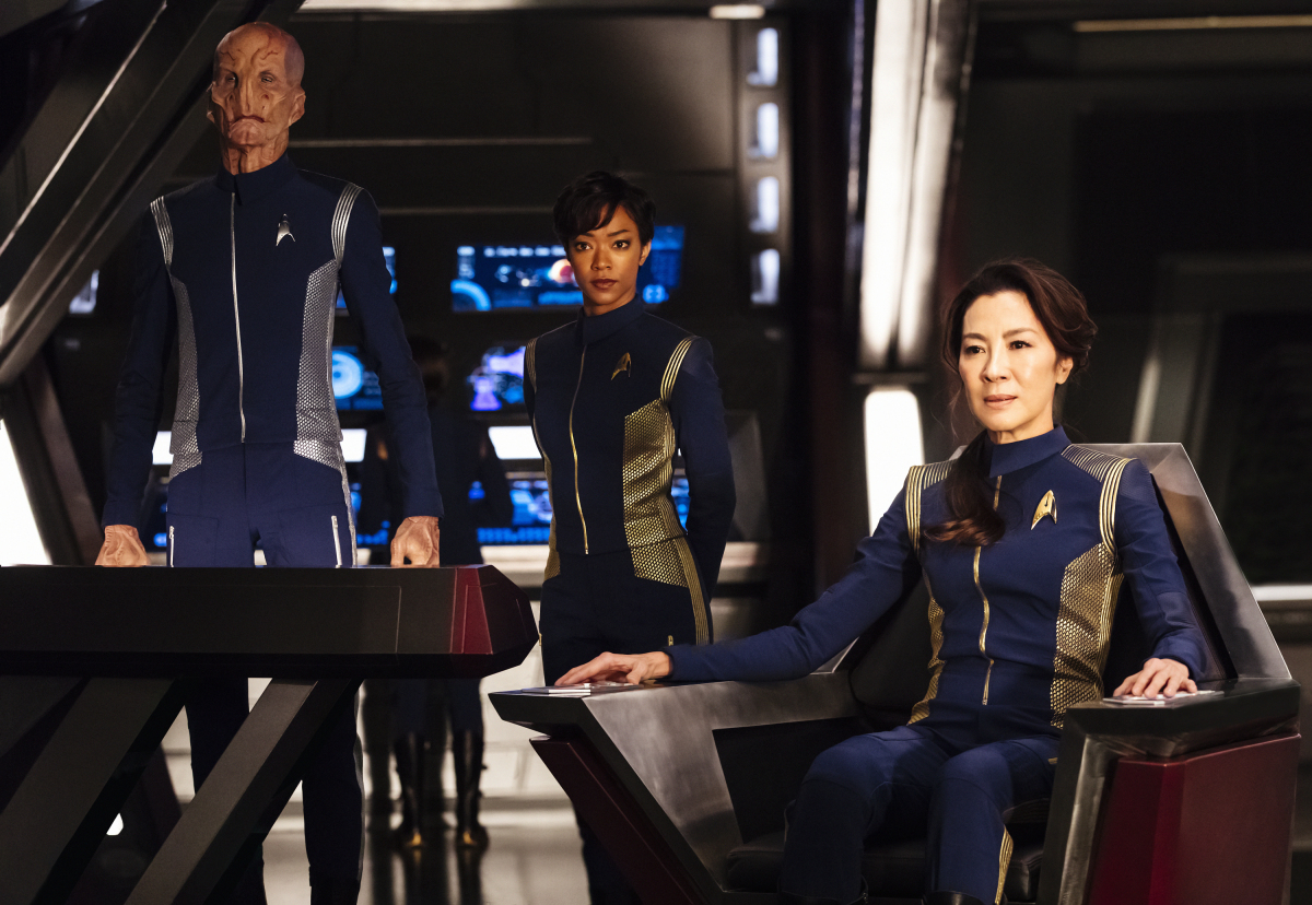 Star Trek Discovery Actors And Actresses Meet The Cast Gallery