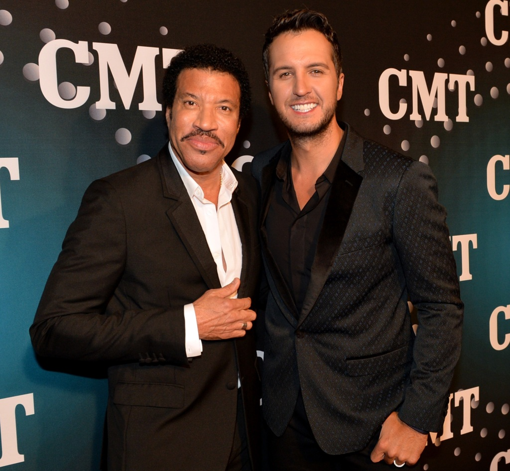 Lionel Richie and Luke Bryan