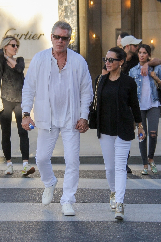 Ray Liotta holds hands with his ex-wife 13 years after ...