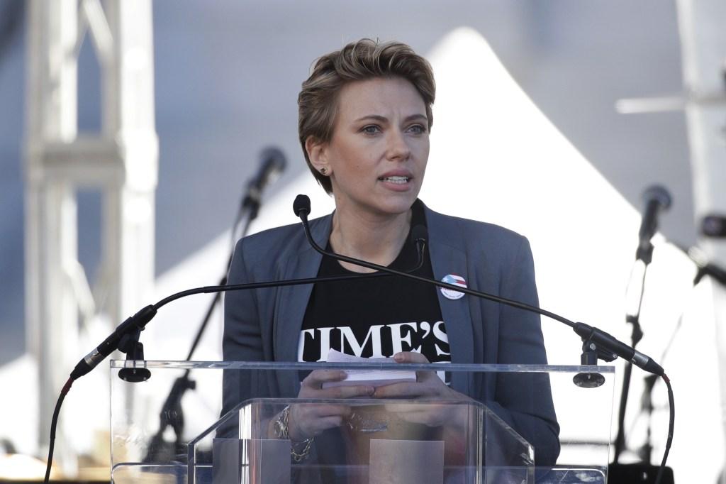 Scarlett Johansson Women's March 2018