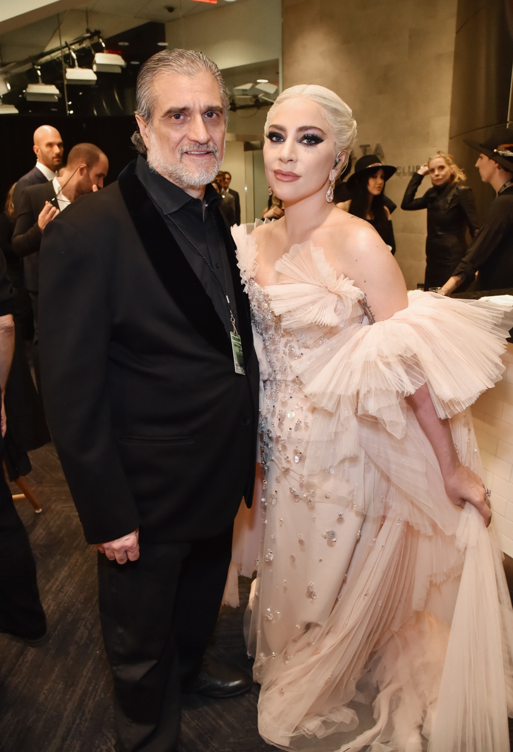 Lady Gaga, dad Joe Germanotta, Grammys