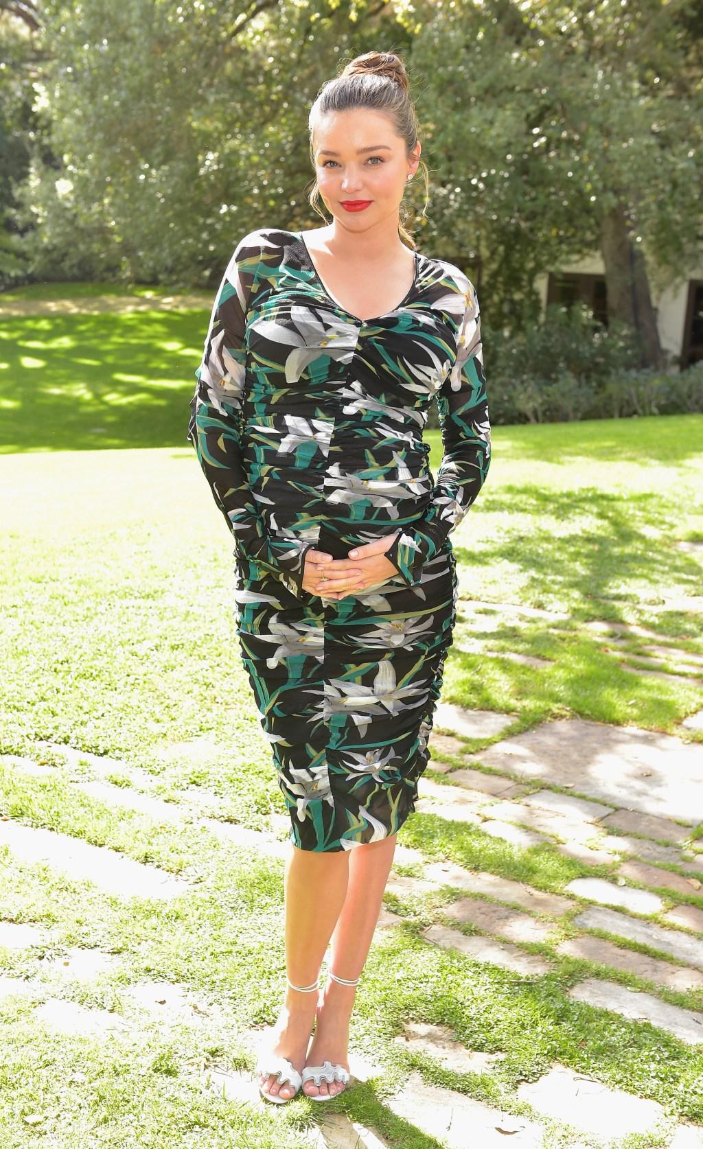Miranda Kerr pregnant