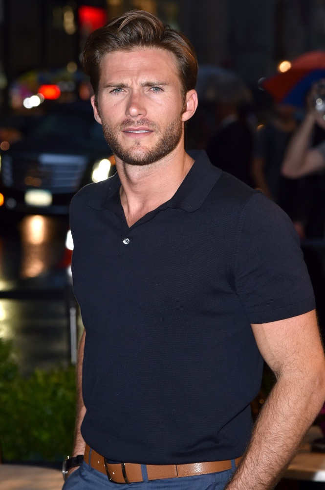 Scott Eastwood fakes ID, attempts to tear down protester