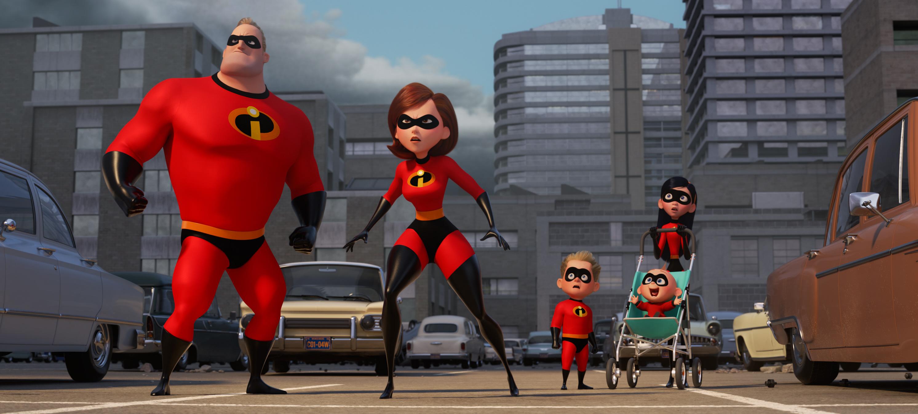 Incredibles 2 Meet The Cast Gallery Wonderwall Com