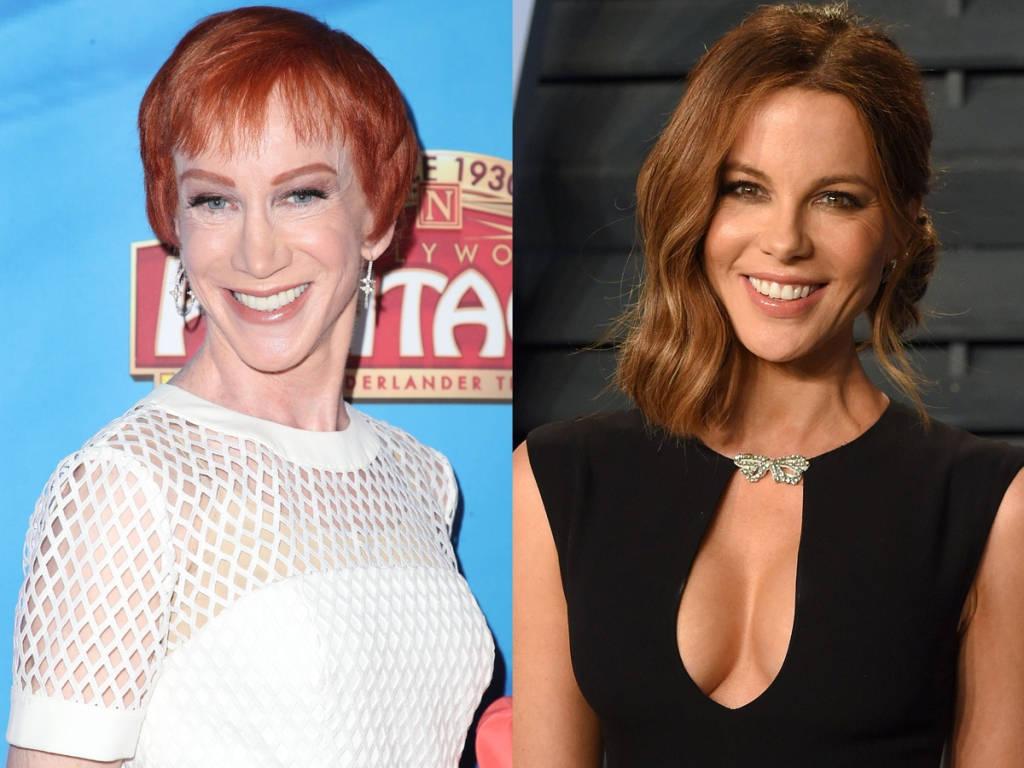 Kathy Griffin, Kate Beckinsale split