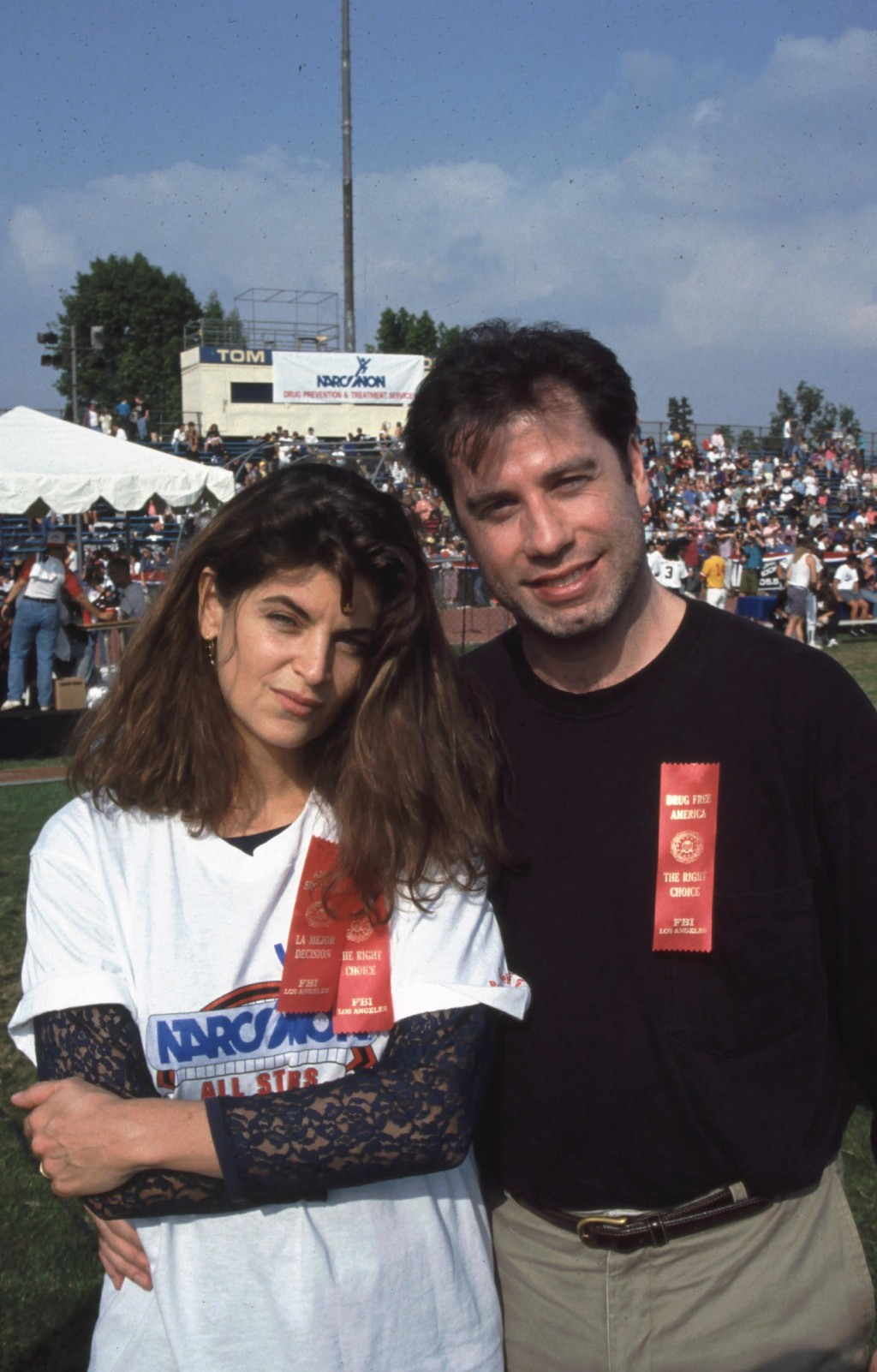 Kirstie Alley, John Travolts
