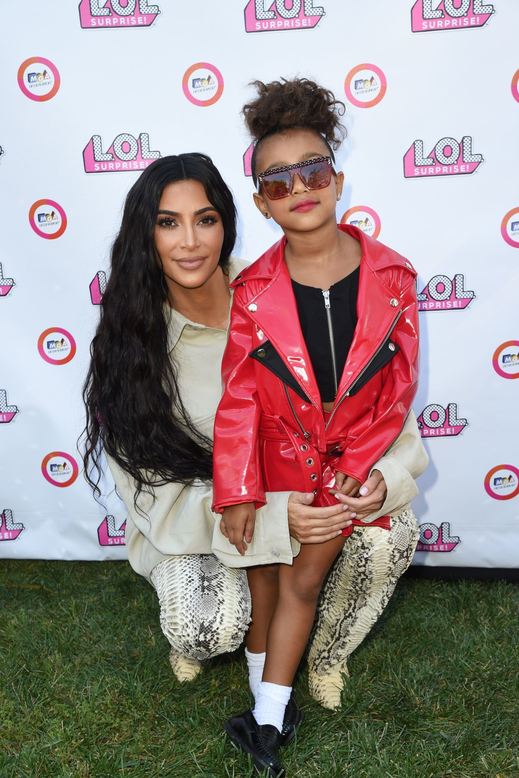 Kim Kardashian West, North West