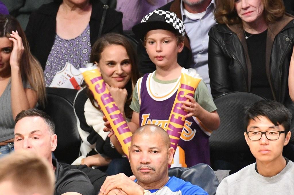 Natalie Portman, son Aleph
