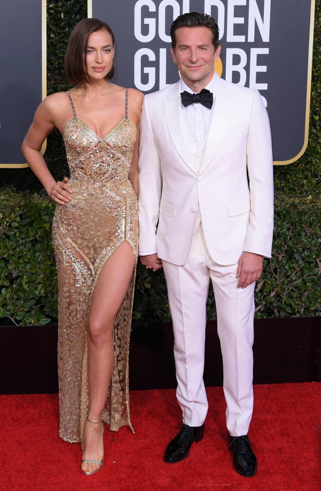 Bradley Cooper, Irina Shayk, Golden Globes