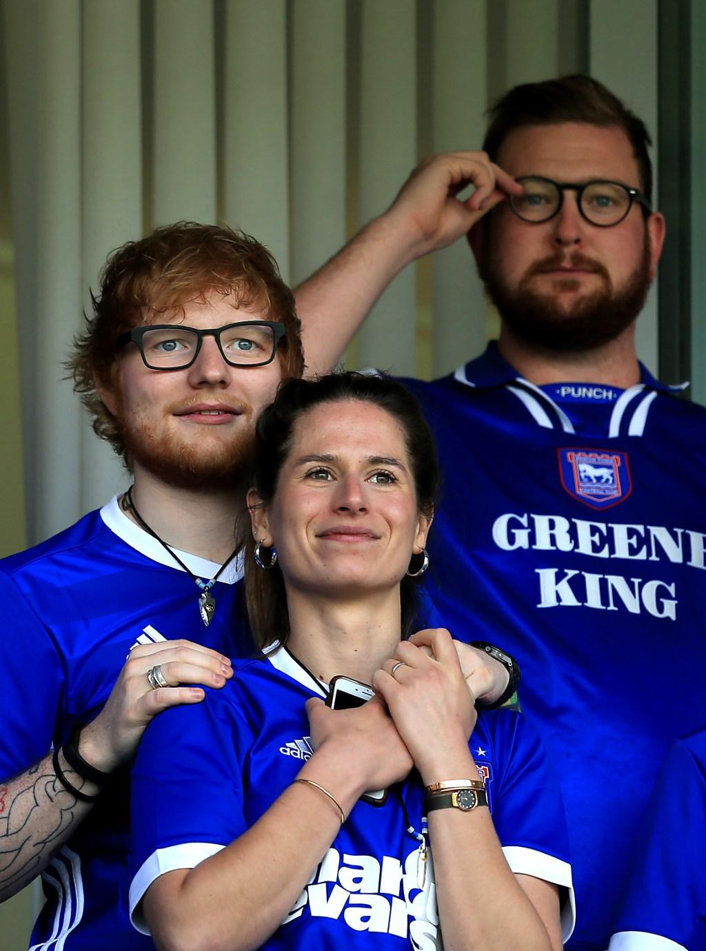 Ed Sheeran, wife Cherry Seaborn