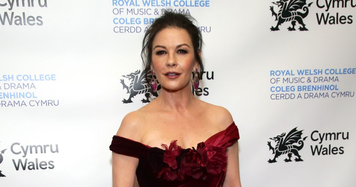 Catherine Zeta-Jones gives fans a peek into her enviable closet.jpg
