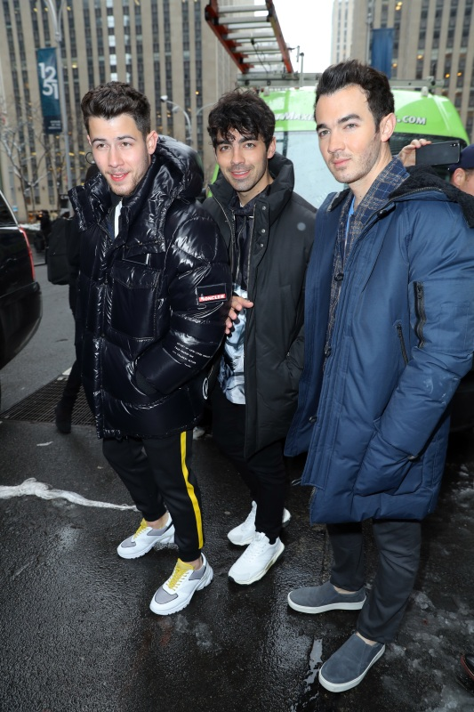 Nick Jonas, Joe Jonas and Kevin Jonas
