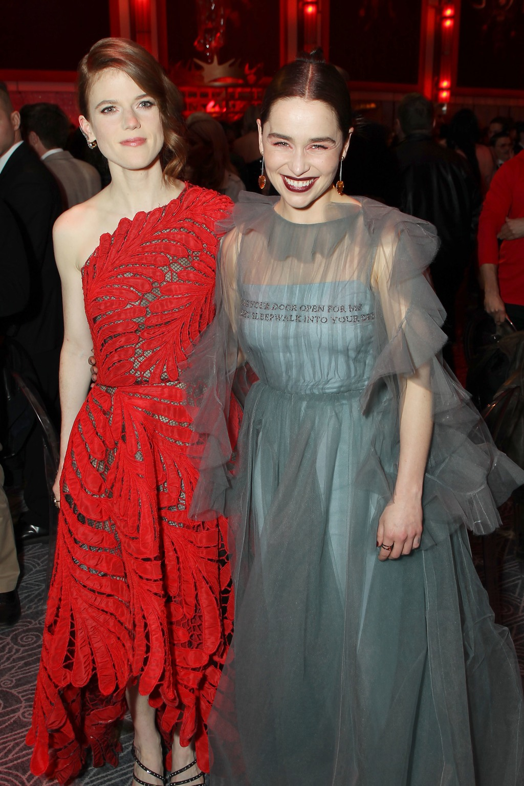 Rose Leslie, Emilia Clarke