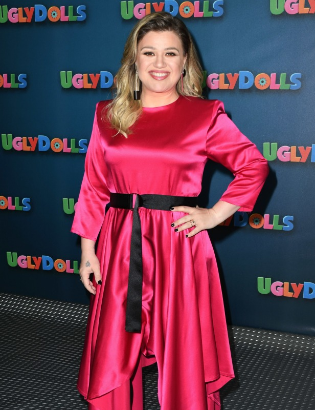 Kelly Clarkson, UglyDolls photo call