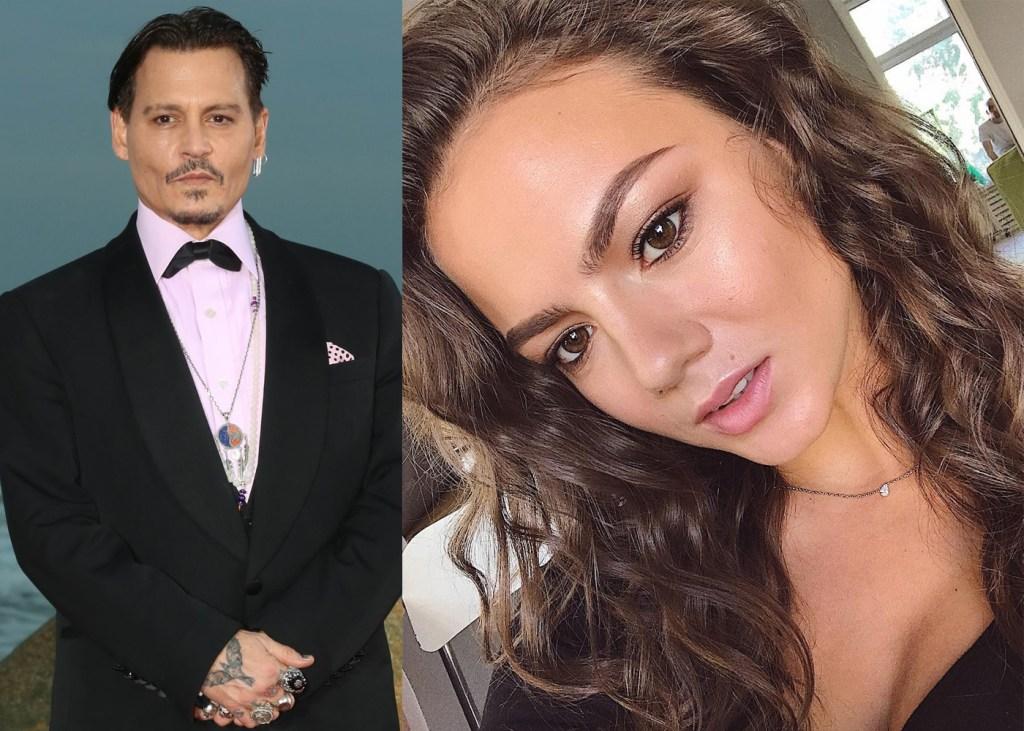 Johnny Depp, girlfriend Polina Glen