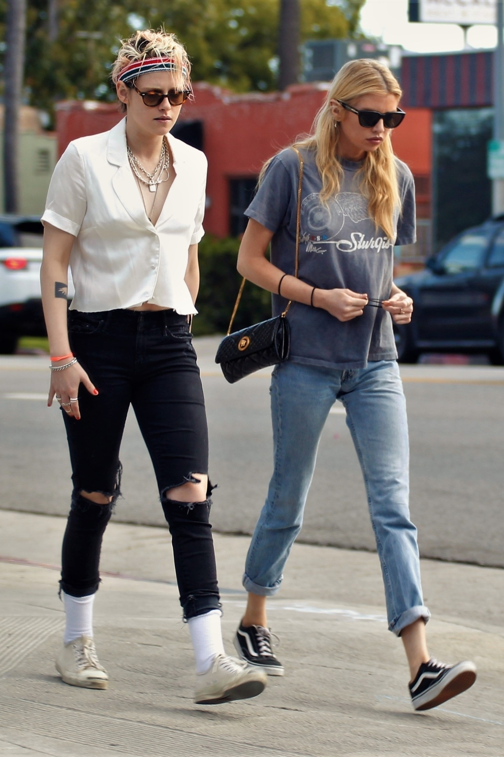 Kristen Stewart, girlfriend Stella Maxwell