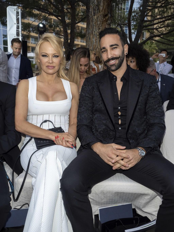 Pamela Anderson, boyfriend Adil Rami