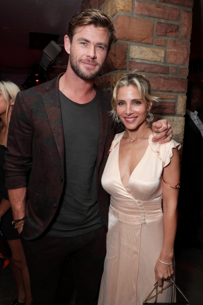 Chris Hemsworth Hilariously Promotes Wife Elsa Pataky S New Book Wonderwall Com
