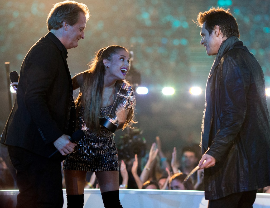 Ariana Grande Jim Carrey