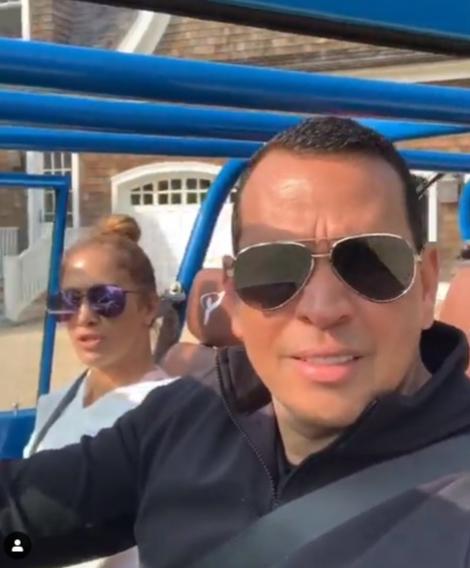 Jennifer Lopez Alex Rodriguez Blast Cardi B In Alex S New Car Gallery Wonderwall Com