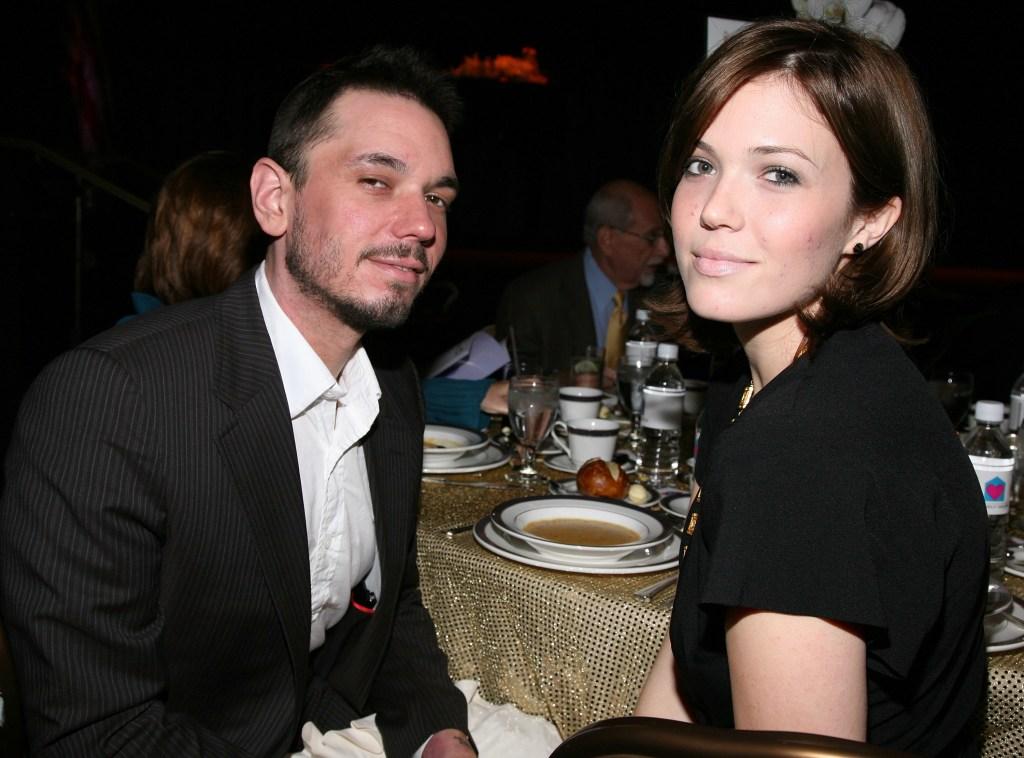 Adam Goldstein and Mandy Moore