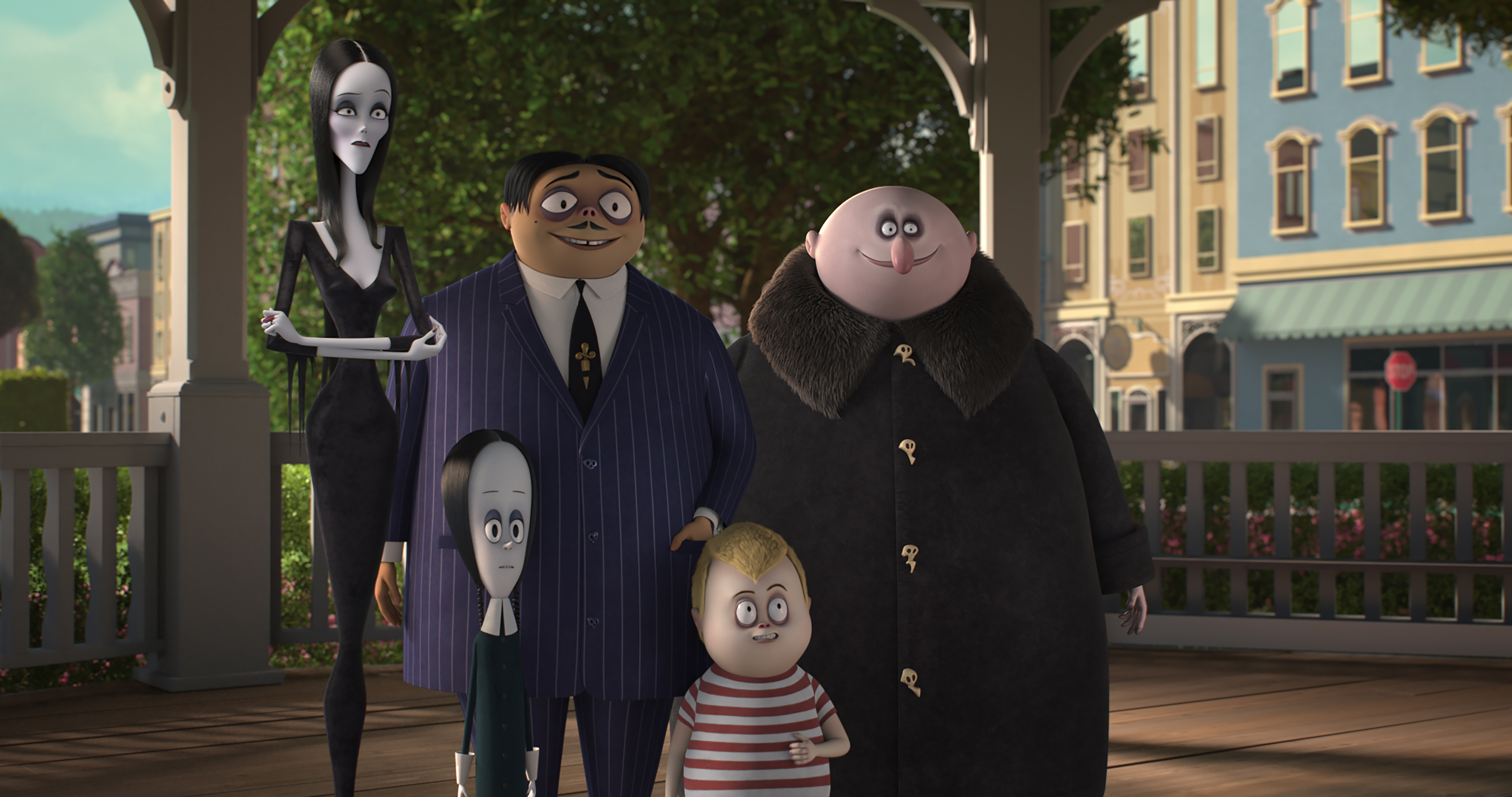The Addams Family Animated Movie Voice Cast Who S Playing Who Gallery Wonderwall Com