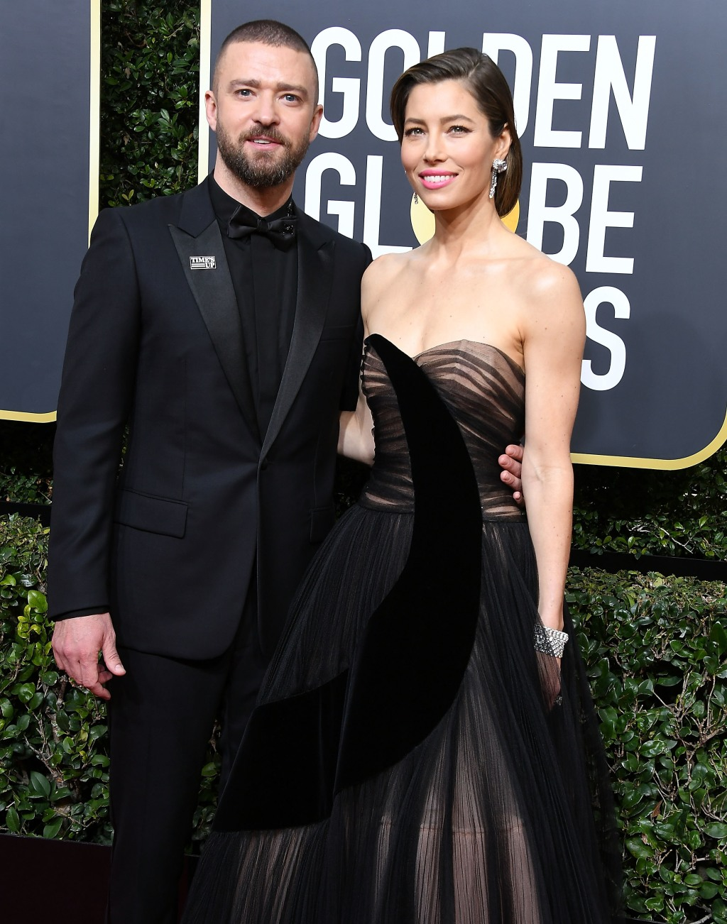 Justin Timberlake, Jessica Biel, Golden Globes
