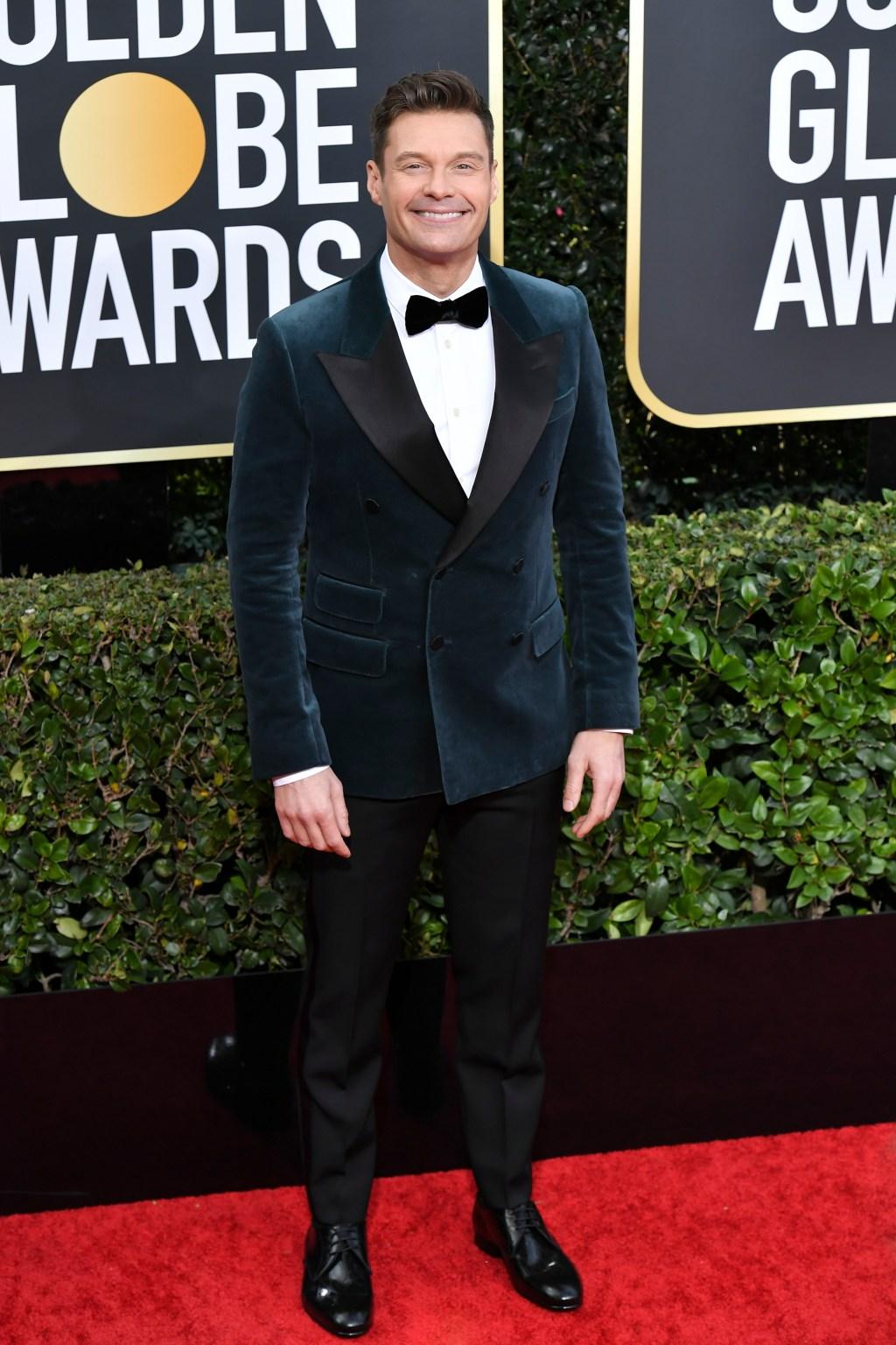 Ryan Seacrest, Golden Globes