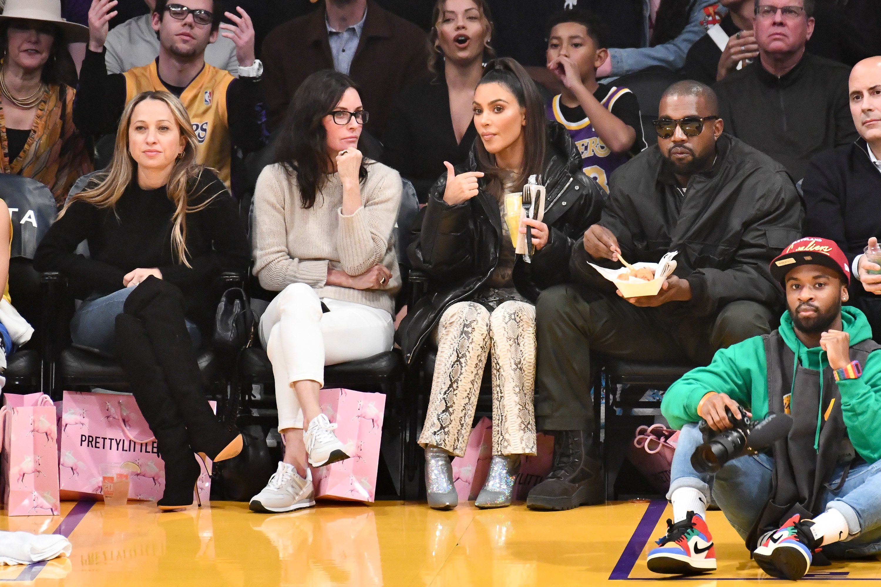 Stars Courtside At Basketball Games Gallery Wonderwall Com