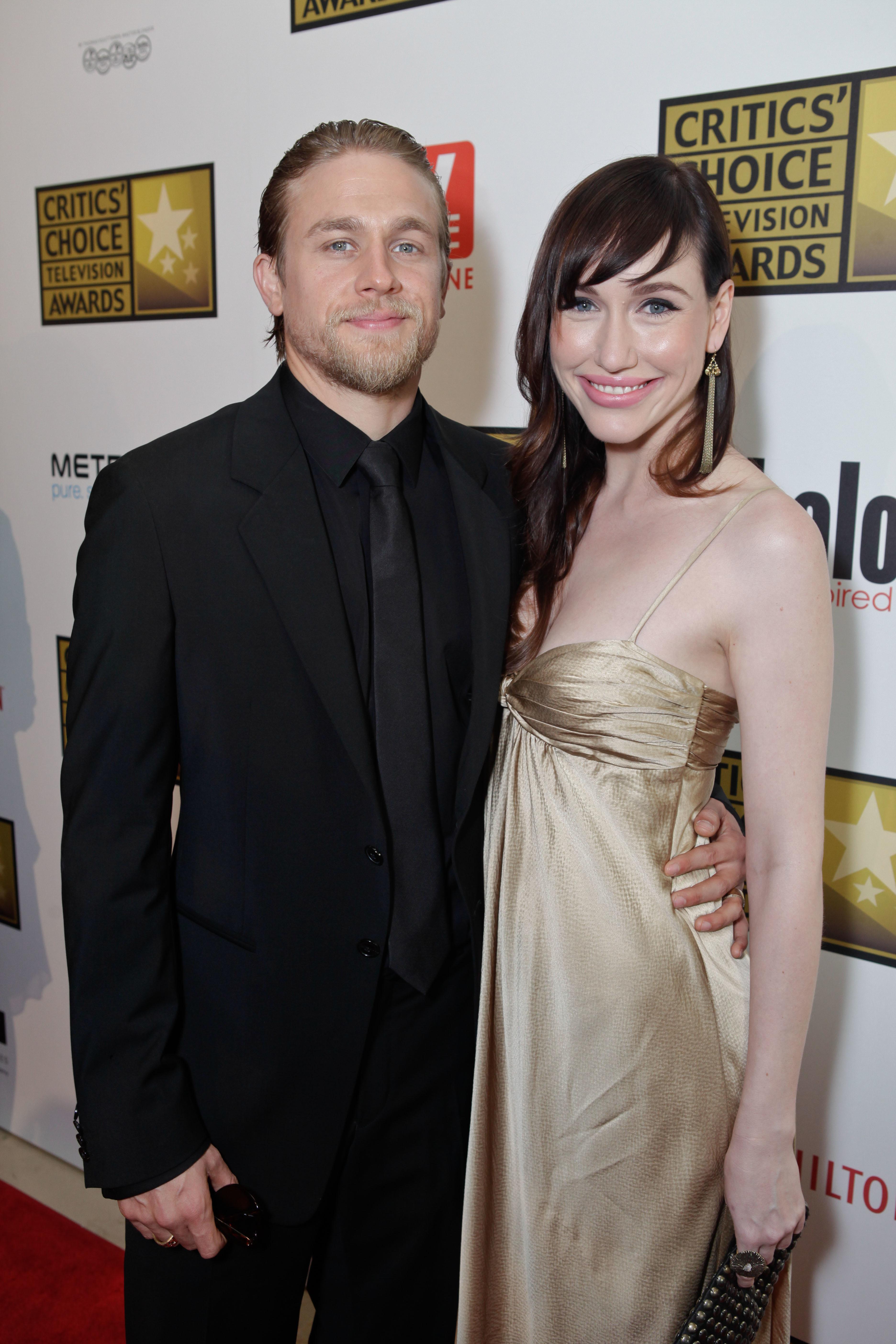 Charlie Hunnam, girlfriend Morgana McNelis