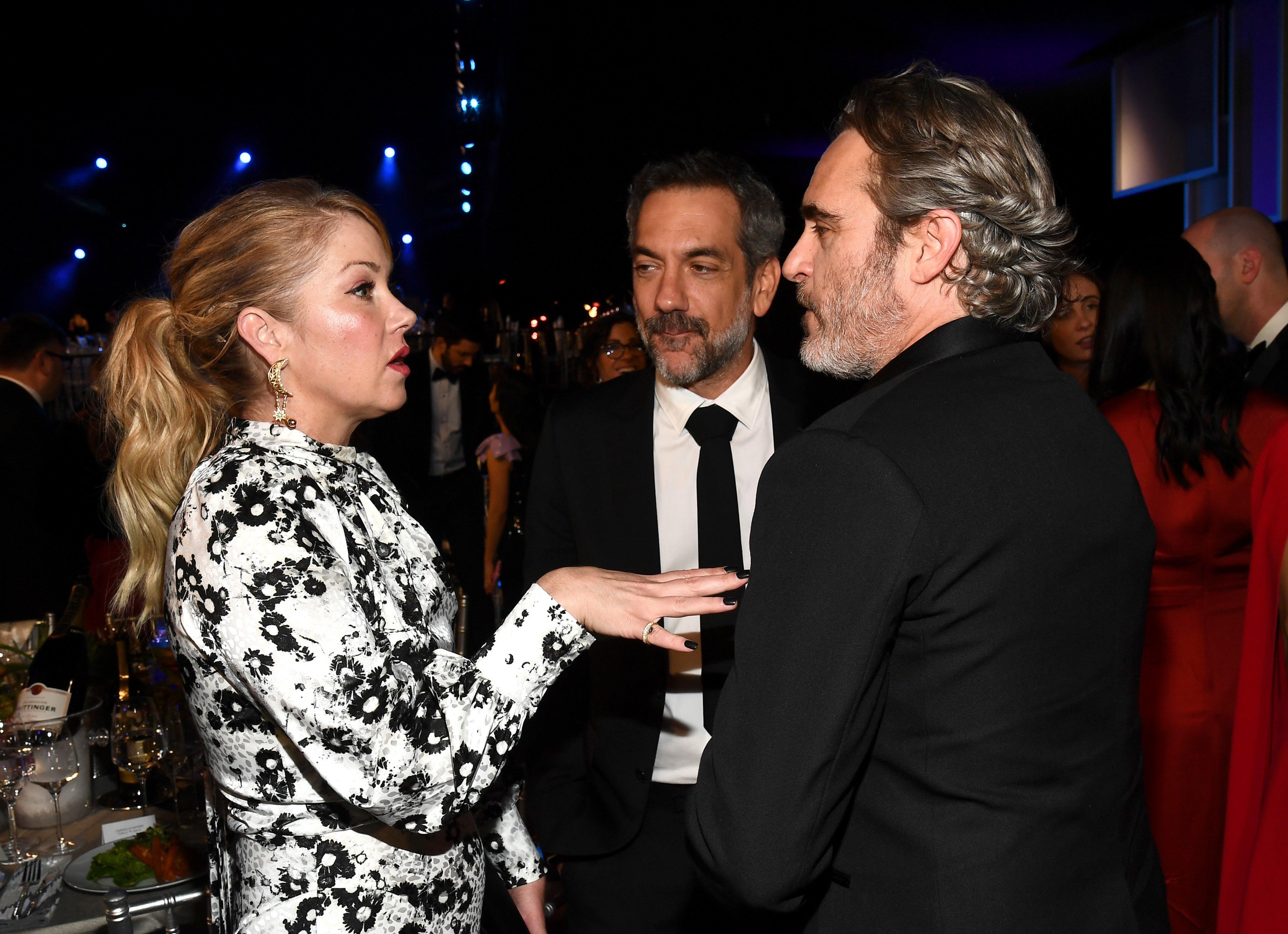 Christina Applegate, Todd Phillips, Joaquin Phoenix