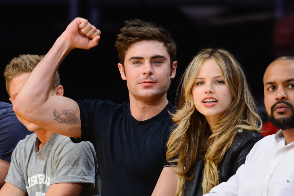Zac Efron, girlfriend Halston Sage