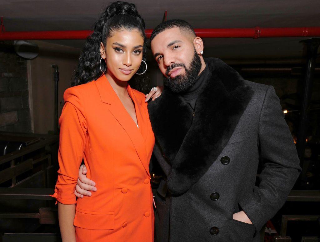 Drake, girlfriend Imaan Hammam