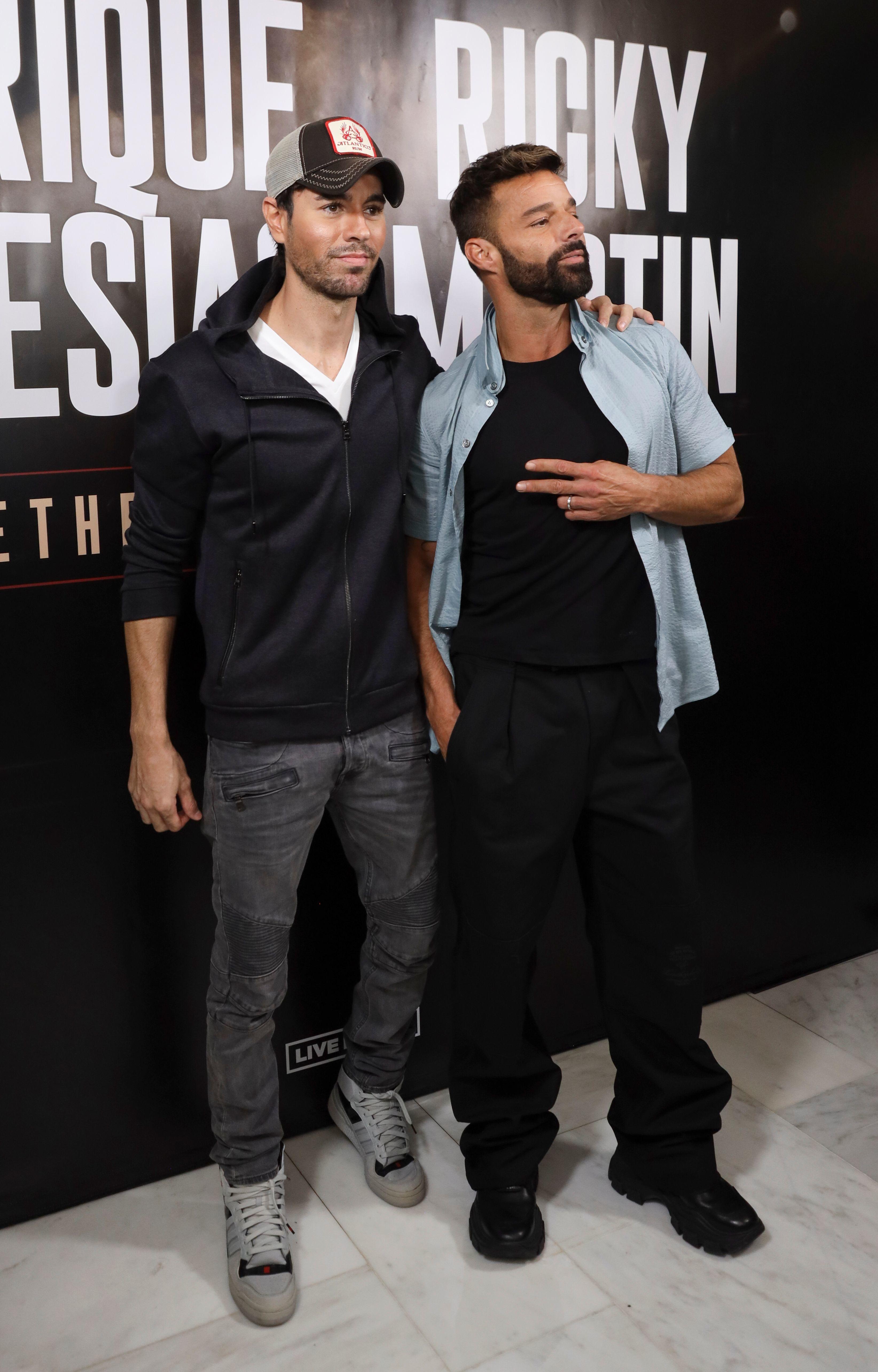 Ricky Martin, Enrique Iglesias