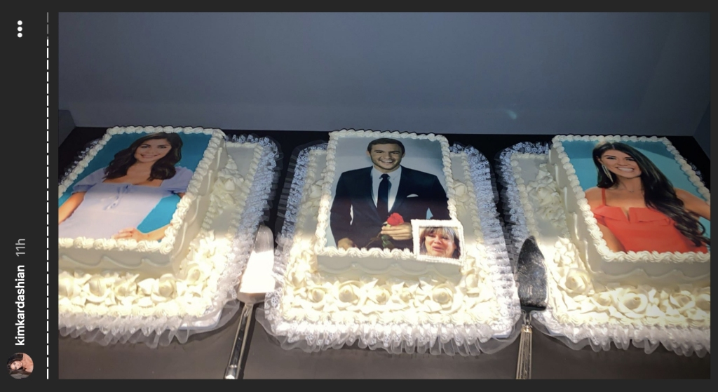 The Bachelor finale cakes