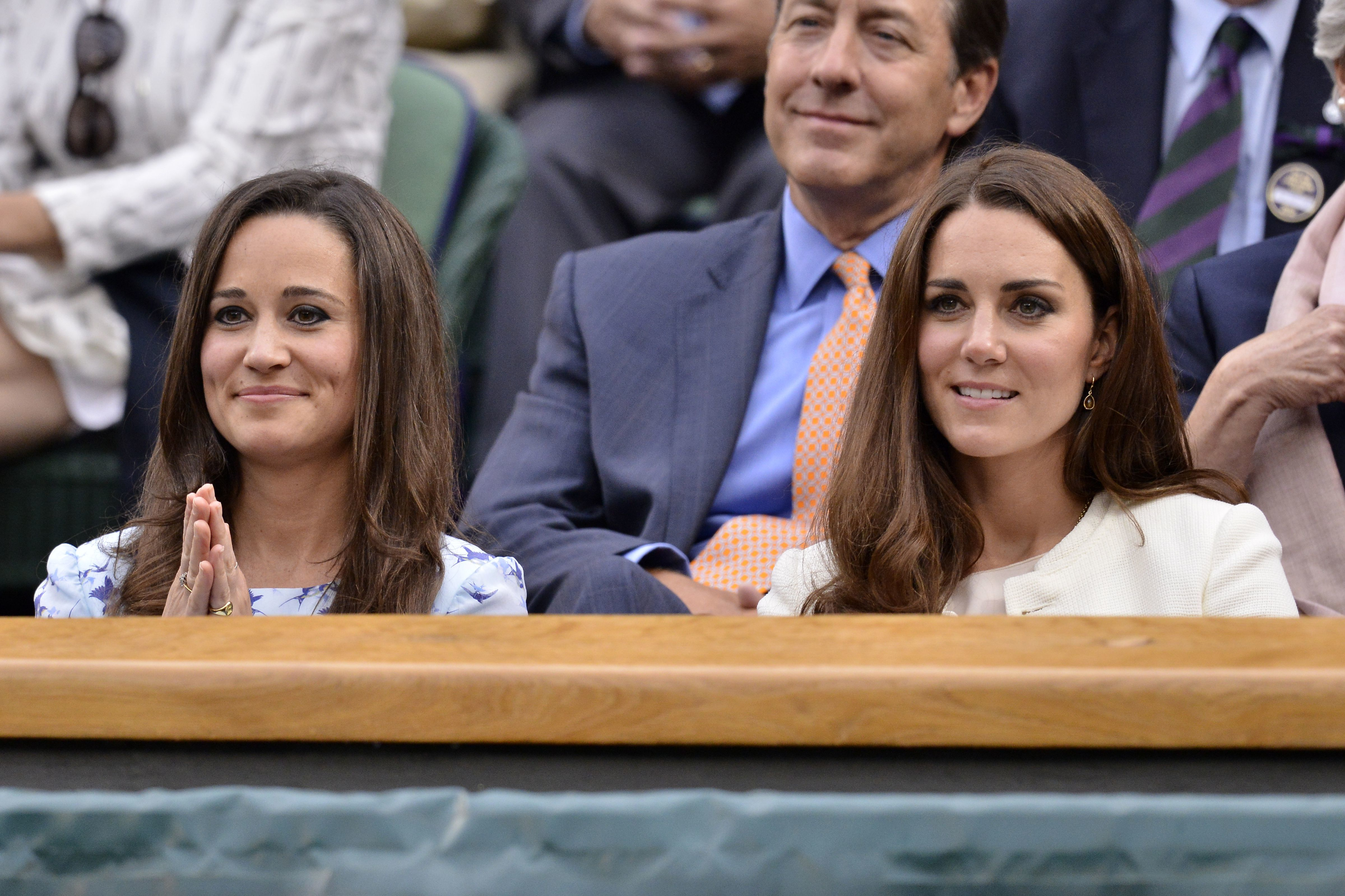 Pippa Middleton and Duchess Kate